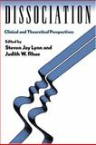 Dissociation : Clinical and Theoretical Perspectives, , 0898621860