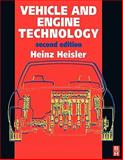 Vehicle and Engine Technology, Heisler, Heinz, 0340691867