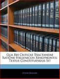 Qua Rei Criticae Tractandae Ratione Hellenicon Xenophontis, Othon Riemann, 1141331861