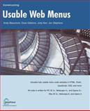 Constructing Usable Web Menus, Andy Beaumont and Dave Gibbons, 1590591860