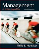 Management : A Skills Approach, Hunsaker, Phillip L., 0131441868
