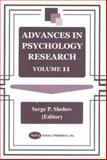 Advances in Psychology Research, , 1590331869