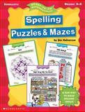 Spelling Puzzles and Mazes, Jim Halverson, 0439051878
