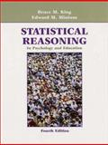 Statistical Reasoning in Psychology and Education, Minium, Edward W. and Clarke, Robert C., 0471211877
