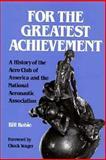 For the Greatest Achievement, William Robie, 1560981873
