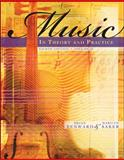 Music in Theory and Practice Volume 2, Benward, Bruce and Saker, Marilyn, 0073101885