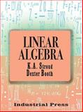 Linear Algebra, Stroud, K. A. and Booth, Dexter, 0831131888