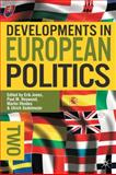 Developments in European Politics, Ulrich Sedelmeier, 0230221882