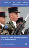 European Union Security Dynamics : In the New National Interest, Matlary, Janne Haaland, 0230521886