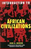 Introduction to African Civilizations, John G. Jackson, 0806521899