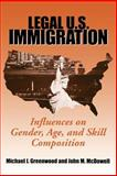 Legal U. S. Immigration : Influences on Gender, Age and Skill, Greenwood, Michael J. and McDowell, John M., 0880991895