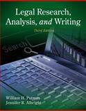 Legal Research, Analysis, and Writing, Putman, William H. and Albright, Jennifer, 1133591906