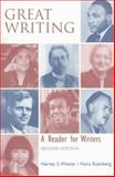 Great Writing : A Reader for Writers, Wiener, Harvey S. and Eisenberg, Nora, 0070701903