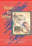 Read to Write, Murray, Donald M., 0155001906
