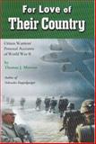 For Love of Their Country, Thomas J. Morrow, 0977911918