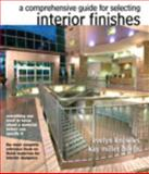 The Comprehensive Guide for Selecting Interior Finishes, Knowles, Evelyn E., 0135121914