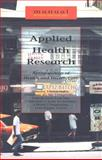 Applied Health Research-Manual 9789055891917