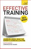 Effective Training in a Week, Martin Manser, 1473601916