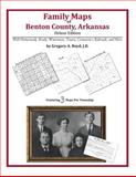 Family Maps of Benton County, Arkansas, Deluxe Edition : With Homesteads, Roads, Waterways, Towns, Cemeteries, Railroads, and More, Boyd, Gregory A., 1420311921