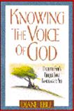Knowing the Voice of God, Diane Eble, 0310201926