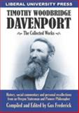 T. W. Davenport : The Collected Works,, 0985891920