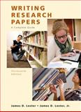 Writing Research Papers (Perfect), Lester, James D. and Lester, Jim D., 0205651925