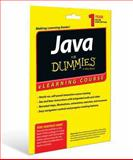 Java for Dummies ELearning Course Access Code Card (12 Month Subscription), Mueller, John Paul, 1118871928