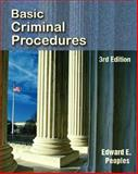 Basic Criminal Procedures, Peoples, Edward E., 0131731920