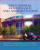 Educational Governance and Administration, Sergiovanni, Thomas J. and Kelleher, Paul, 0205581935