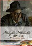 Anthology of African American Literature - 1920 to Present, , 0470671939