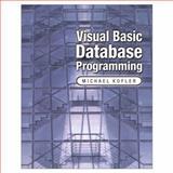 Visual Basic Database Programming, Kofler, Michael, 0201721937