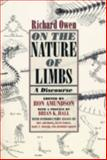 On the Nature of Limbs : A Discourse, Owen, Richard, 0226641937