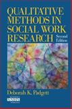 Qualitative Methods in Social Work Research, Padgett, Deborah K., 1412951933