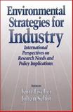 Environmental Strategies for Industry : International Perspectives on Research Needs and Policy Implications, , 1559631937