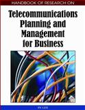Handbook of Research on Telecommunications Planning and Management for Business, In Lee, 1605661945
