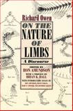 On the Nature of Limbs : A Discourse, Owen, Richard, 0226641945