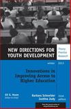 Innovations in Improving Access to Higher Education, Yd 140, , 1118871944