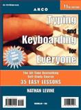 Typing and Keyboarding for Everyone, Nathan Levine, 0028621948