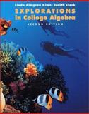 Explorations in College Algebra, Kime, Linda Almgren and Clark, Judy, 0471371947