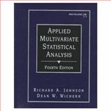 Applied Multivariate Statistical Analysis, Johnson, Richard A. and Wichern, Dean A., 013834194X