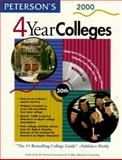 Four-Year Colleges 2000, Peterson's Guides Staff, 0768901944