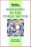 Managing in the Public Sector, Blundell, 0750621958