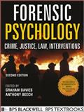 Forensic Psychology, Anthony R. Beech and Graham M. Davies, 1119991951