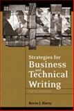 Strategies for Business and Technical Writing, Harty, Kevin J., 0321241959