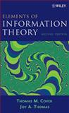 Elements of Information Theory, Cover, Thomas M. and Thomas, Joy A., 0471241954