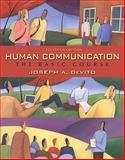 Human Communication : The Basic Course, DeVito, Joseph A., 0205651968