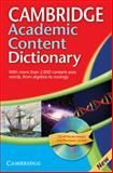 Cambridge Academic Content Dictionary, Not Available (NA), 0521691966