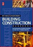 Building Construction Handbook, Chudley, Roy and Greeno, Roger, 0750661968