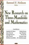 New Research on Three-Manifolds and Math, Neilson, Sam F., 1600211968