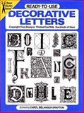 Decorative Letters, Carol Belanger Grafton, 0486251977